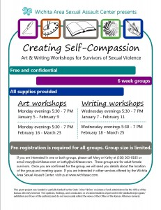 Creating self-compassion flyers